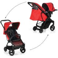 Set Carucior Acrobat Shopn Drive Fishbone Red - Icoo - I COO