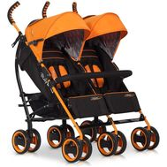 Carucior pentru gemeni Duo Comfort - Easy Go - Electric Orange - Easy Go