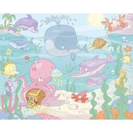 Tapet pentru Copii Baby Under the Sea - Walltastic - Walltastic