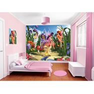 Tapet pentru Copii Magical Fairies - Walltastic - Walltastic