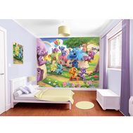 Tapet pentru Copii Belly Button Bears - Walltastic - Walltastic
