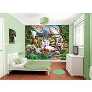 Tapet pentru Copii Jungle Adventure - Walltastic - Walltastic