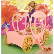 Pat in forma de masina Princess Carriage - Plastiko - Plastiko