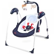 Leagan electric Loop cu telecomanda - Caretero - Navy - Caretero