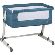 BabyGo – Patut co-sleeper 2 in 1 Together Turquoise Blue - BabyGo