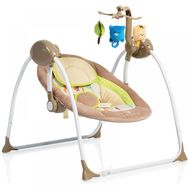 Leagan Electric Baby Swing+ Cappucino - Moni - Moni