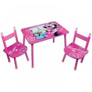 Set Masuta si 2 Scaunele Minnie Bowtique - Fun House - Fun House