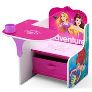 Scaun multifunctional din lemn Disney Princess Up For Adventure - Delta Children - Delta Children