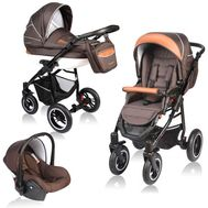 Carucior Crooner 3 in 1 - Vessanti - Brown - Vessanti