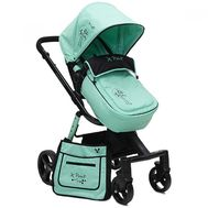 Carucior Copii 2 In 1 X Point Verde - Cangaroo - Cangaroo