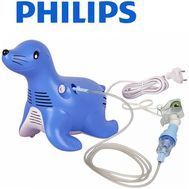 Aparat de aerosoli cu compresor Respironics Sami the Seal - Philips