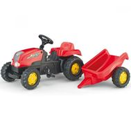 Tractor cu Pedale si Remorca 012121 - Rolly Toys - Rolly Toys