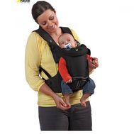 Marsupiu 3 Way Carrier - Hauck - Negru - Hauck