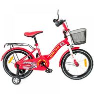 Bicicleta copii Toma Car Fire Station Red 16 - Mykids - MyKids
