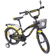 Bicicleta copii Toma Exclusive 1805 Yellow - Mykids - MyKids