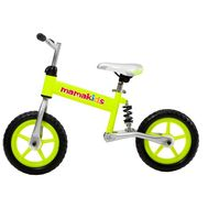 Bicicleta fara pedale 12 inch Hit Mamakids - Verde - Kidcity