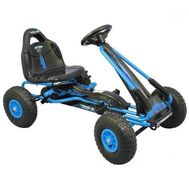 Kart cu Pedale Speed Fever - Baby Mix - Blue - Baby Mix