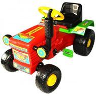 Tractor cu pedale Turbo Red - Super Plastic Toys
