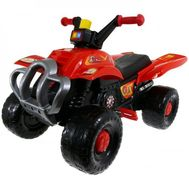 Quad cu pedale Red Fire - Super Plastic Toys - Super Plastic Toys
