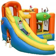 Saltea gonflabila Play center 10 in 1 - Happy Hop
