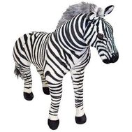 Zebra gigant din plus - Melissa and Doug - Melissa and Doug