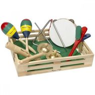 Set de instrumente muzicale din lemn - Melissa and Doug - Melissa and Doug