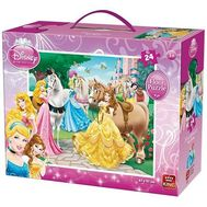 Disney Princess puzzle 24 buc - King