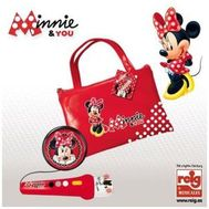 Geanta cu Microfon si Amplificator Minnie Mouse - Reig Musicales - Reig Musicales