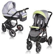 Carucior Crooner 2 in 1 - Vessanti - Green/Gray - Vessanti
