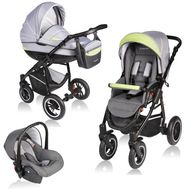 Carucior Crooner 3 in 1 - Vessanti - Green/Gray - Vessanti