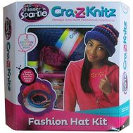 Set de Crosetat Ultimate Designer Cra-Z-Knitz Caciula - Cra-Z-Art
