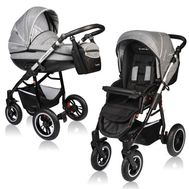 Carucior Crooner Prestige 2 in 1 - Vessanti - Gray - Vessanti