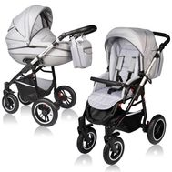 Carucior Crooner Prestige 2 in 1 - Vessanti - Light Gray - Vessanti