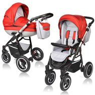 Carucior Crooner Prestige 2 in 1 - Vessanti - Red