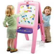 Tabla dubla pentru copii - Easel for Two - Step2 - Roz