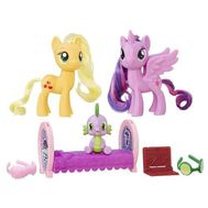 Set Figurine Family Moment Princess Twilight Sparkle si Applejack - Hasbro