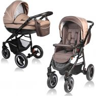 Carucior Crooner 2 in 1 - Vessanti - Beige - Vessanti