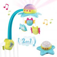 Carusel muzical Cotoons Star 2 in 1 - Smoby - Smoby