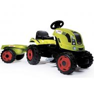 Tractor cu pedale si remorca Claas Farmer XL - Smoby - Smoby