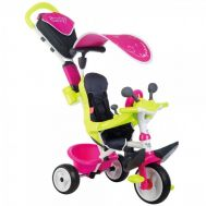 Tricicleta Baby Driver Comfort - Smoby - Pink - Smoby