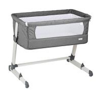 BabyGo – Patut co-sleeper 2 in 1 Together Grey - BabyGo