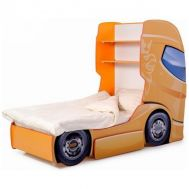 Pat camion tineret DUO SCANIA+1 Orange - Mykids - MyKids