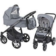 Carucior Multifunctional 2 in 1 Husky Winter Pack Gray - Baby Design - Baby Design