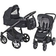 Carucior Multifunctional 2 in 1 Husky Winter Pack Black - Baby Design - Baby Design