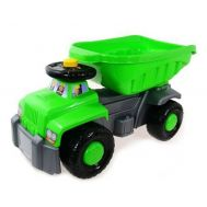 Camion basculant Carrier Green - Super Plastic Toys - Super Plastic Toys