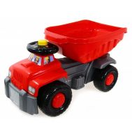 Camion basculant Carrier Red - Super Plastic Toys - Super Plastic Toys