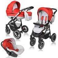 Carucior Crooner Prestige 3 in 1 - Vessanti - Red - Vessanti
