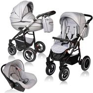 Carucior Crooner Prestige 3 in 1 - Vessanti - Light Gray - Vessanti
