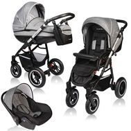 Carucior Crooner Prestige 3 in 1 - Vessanti - Gray - Vessanti