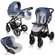 Carucior Crooner Prestige 3 in 1 - Vessanti - Blue - Vessanti